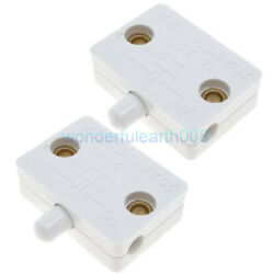 2 Sets Cabinet Wardrobe Door Touch Lamp Switch DC12V 24V AC100 250V 1A WT $5.20