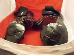 1 Pair Century Martial Arts Student Hook and Loop Sparring Gloves BK Adult M L $8.00