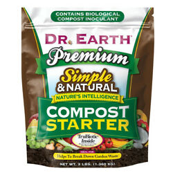 DR. EARTH PREMIUM COMPOST STARTER 3lb $34.99