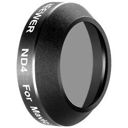 Neewer Neutral Density ND4 Lens Filter for DJI Mavic Pro Quadcopter Drone $4.99