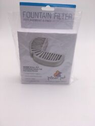 Ceramic Pioneer Replacement Filter For Steel Pet Fountains 4 PACK. $21.99