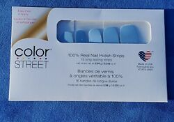 Aspen Sky Color Street Nail Strips Free Shipping $9.00