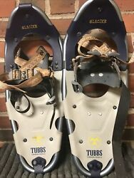 TUBBS YOUTH 21quot; GLACIER SNOWSHOE Preowned Nice Shoes Lightweight $55.00