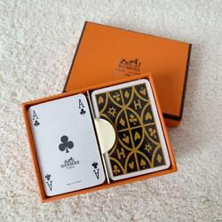 Hermes Playing Card set Novelty for Royal Customers Promo Unused w Box $139.99
