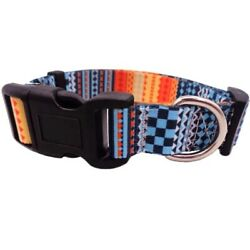 Dog Collar Adjustable and Washable Soft Luxury Nylon Dog Collars For Small Dogs $10.89
