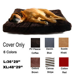 Pet Large Dog Cat Bed Nest Replacement Cover Only Cushion Slipcover Washable $13.99
