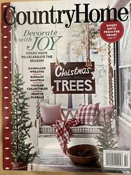 Country Home Magazine Winter 2020 $6.00