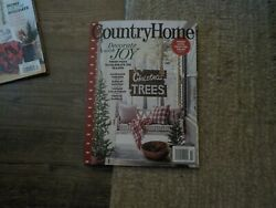 Country Home Magazine Winter 2020 Christmas Decorate with Joy $6.99