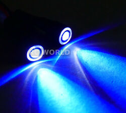 RC Racing Drone Quad LIGHT SYSTEM POWERFUL 10mm HALO LED BLUE WHITE HALO $7.99