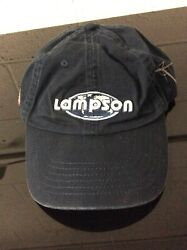 Lampson Translift Spellout Hat W Strap *SEE PICS* $9.86