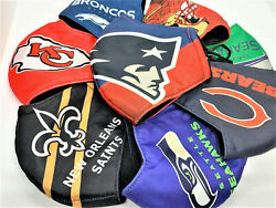 NFL Football Teams 100% cotton face mask adjustable straps thick durable $5.90