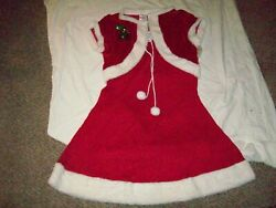 #39 Christmas Dress and Cape NWT#x27;s Size Large $3.99