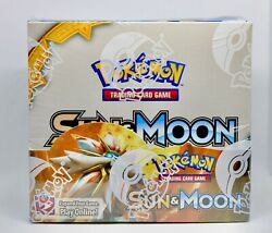 Sun and Moon Booster Box Pokemon TCG Factory Sealed English 36 Booster Packs $102.99