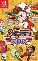 Burgertime Party for Nintendo Switch New Video Game $25.21
