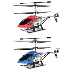 Mini RC Helicopter Drone 3.5 Channel Drop resistant LED Remote Control Aircraft $27.75