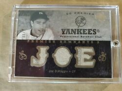 2007 UD PREMIER Gold JOE DiMAGGIO Game Used Pinstripes 06 10 $199.99