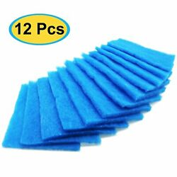 12Pack Replacement Polyester Filters For BetterVent Dryer Vent Filter Indoor Kit $16.94