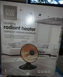 easy home oscillating radiant heater new $72.20