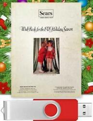 Vintage 1978 Sears Christmas Wishbook Catalog On USB Drive Toys Clothes amp; More $18.95
