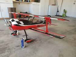 Rc plane 30cc pitts python with futaba 16sz $1200.00