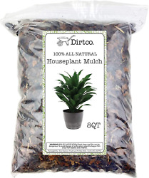 Houseplant Mulch Small bark Wood Chips for Indoor Patio Potting Media and M $27.63