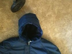 Big amp; Tall Mens Sears Synthetic Fur lined Heavy Winter Coat with a hood 3X $30.00