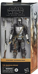 "Star Wars The Black Series The Mandalorian Beskar Armor 6"" AF 4 2021 PRESALE $29.99"