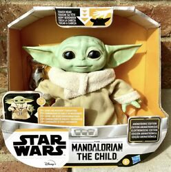 Star Wars The Mandalorian The Child Talking Animatronic Figure Baby Yoda In Hand $99.99