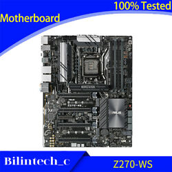 FOR ASUS Z270 WS Motherboard Support LGA1151 DDR4 64GB DPHDMI ATX standard $1368.08