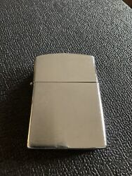 "Big Novelty Cigarette Lighter Extra Large Tall Chrome Style 4.5"" X 3"" EUC $14.99"
