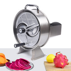 Lemon Slicing Onion Fruit Vegetable Cutter Slicer Machine Manual Commercial Sale