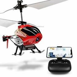 U12S Mini RC Helicopter with Camera Remote Control Helicopter for Kids and Red $68.89