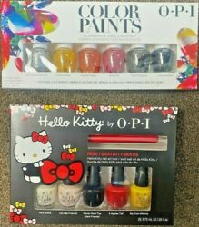 OPI mini kit Color Paints DDP15 Hello Kitty with free nail art DDH04 $11.95