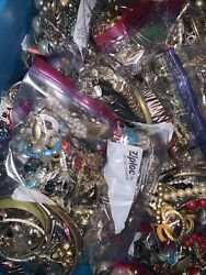 Mystery Jewelry Lot Vintage Modern Wearable 1 2lbs Good Cond READ DESCRIPTION $15.99