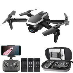 CSJ S171 PRO RC Drone With Camera 4K Foldable Quadcopter Xmas Gift For Kids K7G0 $42.85
