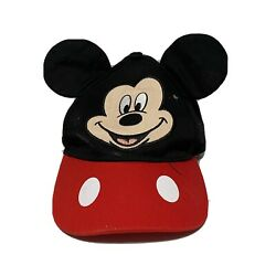 Disney Junior Mickey Mouse Ear Boys Adjustable Hat One Size Fits Most $6.98