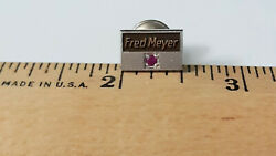 Fred Meyer Grocery Store Service pin with Ruby 1 5 10 K Gold $20.00