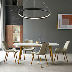 Warm LED Round Ring Chandelier Dining room Pendant Hanging Lamp Ceiling Light $67.01