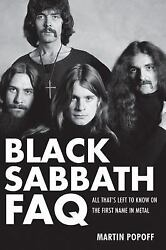Black Sabbath FAQ: All That#x27;s Left to Know on the First Name in Metal $9.87