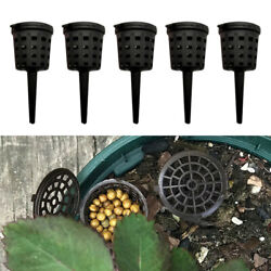 50pcs Fertilizer Baskets Nursery Pots Fertilizer Container with Lid $7.81