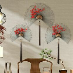 Metal Wall Decorations Flower Living Room Wall Ornament Chinese Modern Creative $47.97