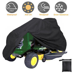 55in Long Lawn Mower Tractor Cover Heavy Duty 210D Waterproof UV Protection $11.98