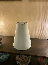 Conical Table Lamp Shade in Cream $15.00