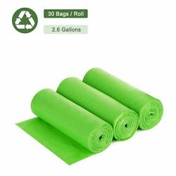2.6Gal Portable Toilet Replacement Trash Bags 100% Biodegradable Compostable $4.89