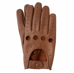 Men#x27;s Genuine Leather Driving Gloves Riding Gloves Fashion Leather Gloves 39 $11.98