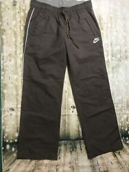 Nike Women Sportswear Pants Athletics Size Medium 8 10 Iight Brown * 10 $7.00