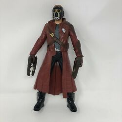 "2014 Guardians of the Galaxy 12"" Star Lord Peter Talking Marvel Battle FX Figure $19.97"
