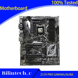 FOR ASUS Z170 PRO GAMING AURA Motherboard Supports 7700K 1151PIN DDR4 Z170 64GB $176.69