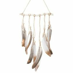 Ling#x27;s moment Bohemian Feather Wall Hanging Decorations Boho Bedroom Decor $14.99