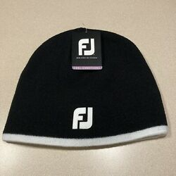 FootJoy Winter Beanie Black BRAND NEW w tags knit ski cap $14.99